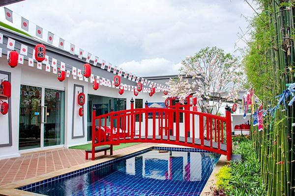 บ้านฮอกไกโด พัทยา พูลวิลล่า