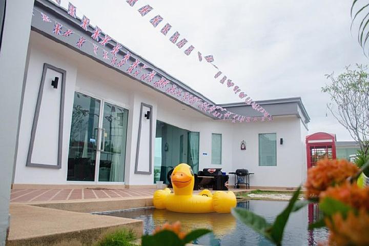 บ้านอิงลิช พัทยา พูลวิลล่า